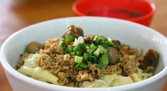 resep mie ayam jamur spesial enak