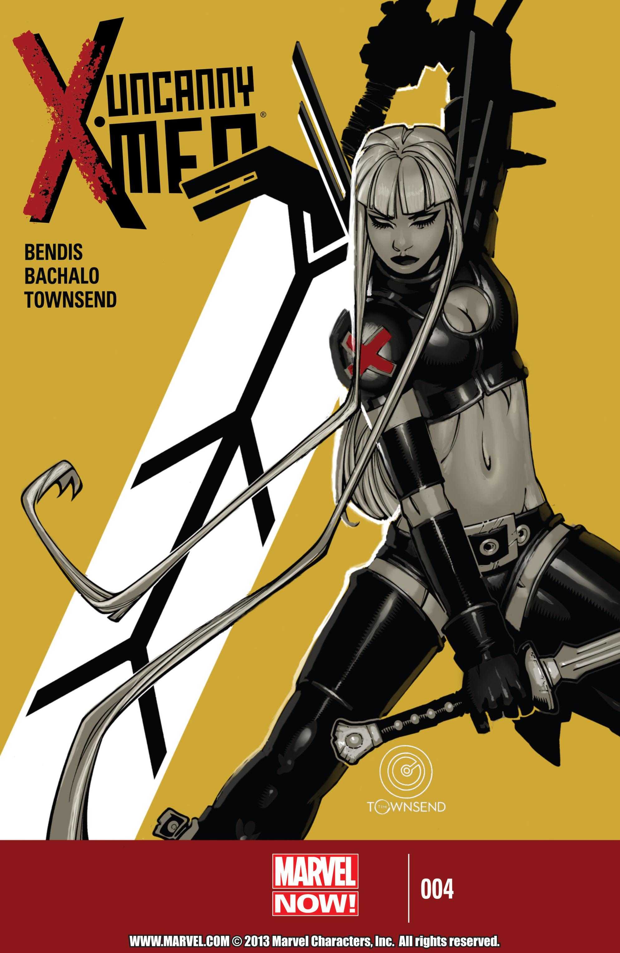 Read online Uncanny X-Men (2013) comic -  Issue #4 - 1