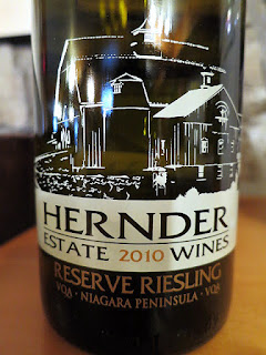Hernder Riesling Reserve 2010 (88 pts)