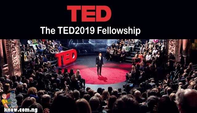 How To Apply For The TED2019 Fellowship