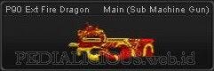 P90 Ext Fire Dragon