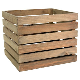 farmhouse wooden crates