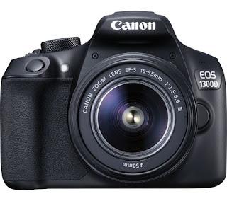 Harga Kamera DSLR Canon EOS 1300D termurah terbaru dengan Review dan Spesifikasi April 2019