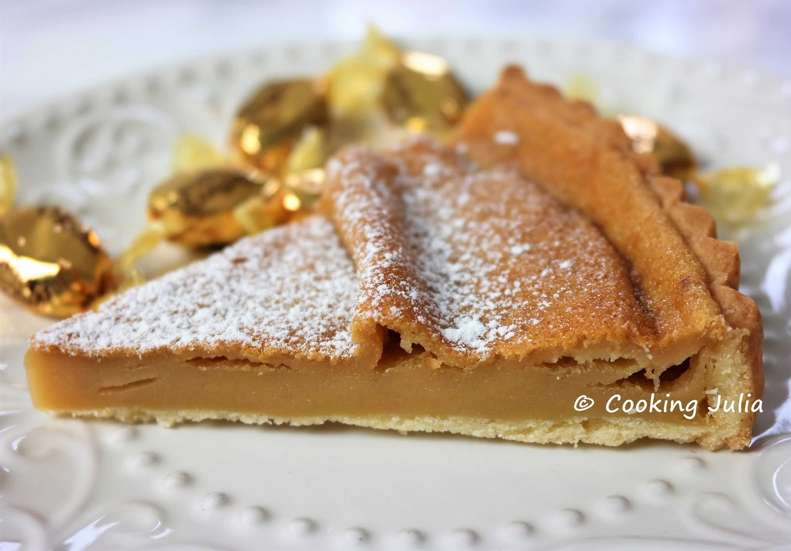 COOKING JULIA : TARTE AU CARAMEL DE LAURENT MARIOTTE