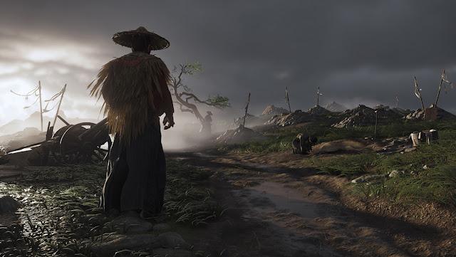 عرض طريقة اللعب في Ghost of Tsushima كان يعمل على جهاز PS4 Pro و الكشف عن فترة إصدار اللعبة بشكل رسمي …