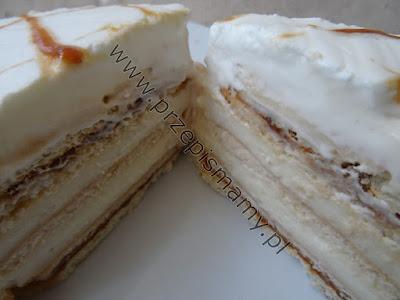 """Ciasto bez pieczenia """"Krówka"""""""