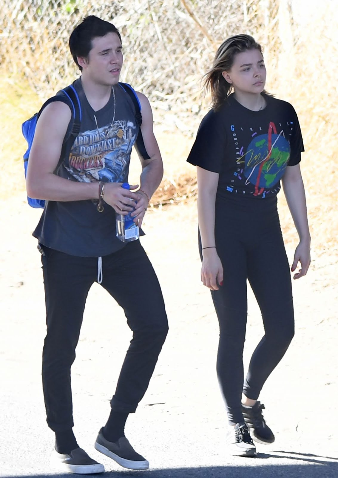 Photos of Chloe Moretz with Brooklyn Beckham Out Hikking in Santa Barbara