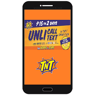 Talk N Text  UTP15 - 15 pesos Promo with 2 days Unli Call and Text