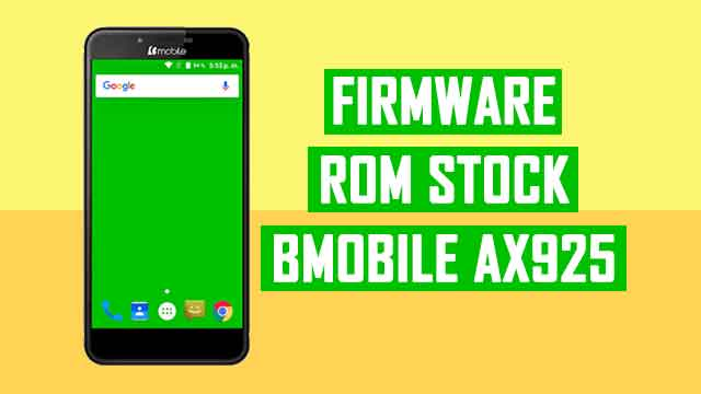 rom stock Bmobile AX925