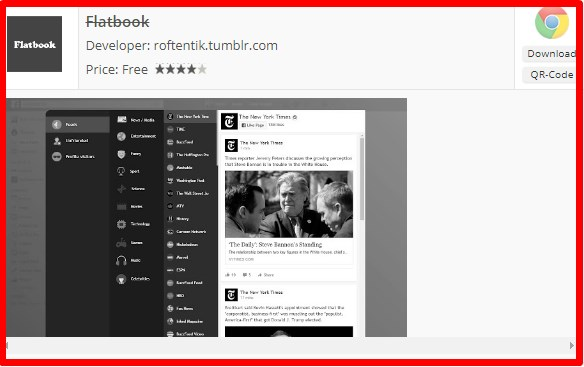 facebook flat google chrome extension apk