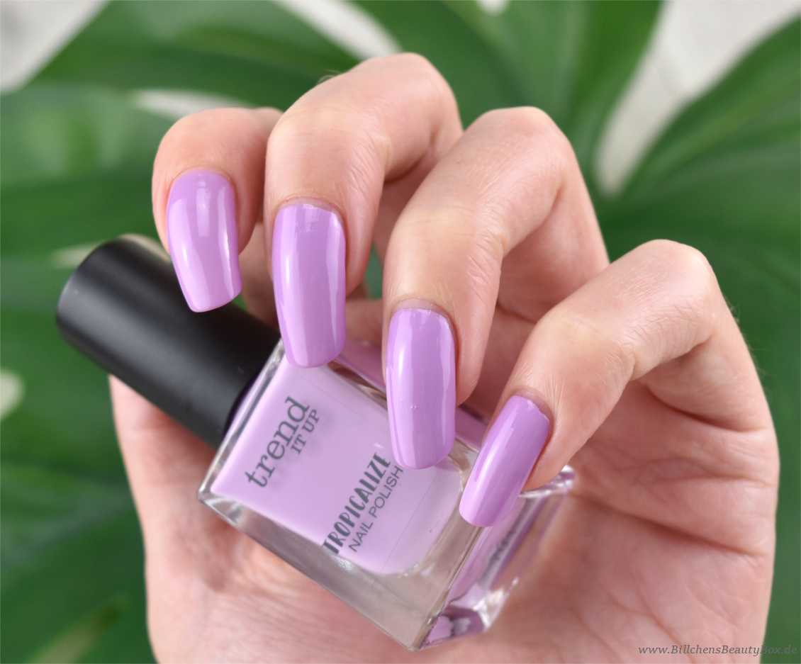 trend IT UP - Tropicalize Limited Edition - Nagellack - 040 - Review und Swatches