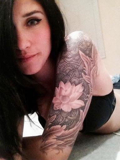 Lotus Manga Tatuagem Desenhos Para As Mulheres