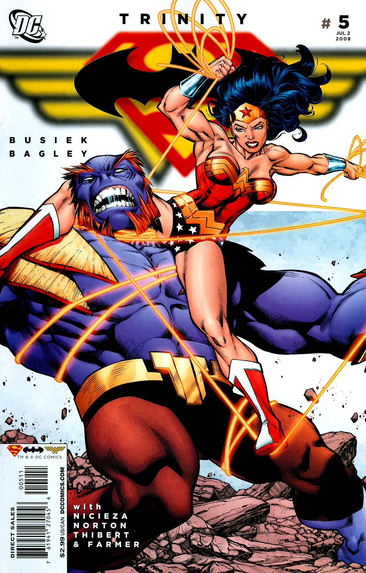 Read online Trinity (2008) comic -  Issue #5 - 1