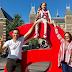Ticiane Pinheiro comemora 41 anos em Amsterdam com Cesar Tralli e a filha.