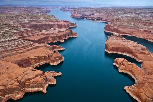 Lake Powell, Glen Canyon National Recreation Area, Amerika Serikat