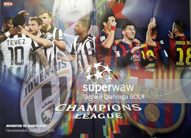 UEFA CHAMPIONS LEAGUA FINAL 2015 JUVENTUS VS BARCELONA