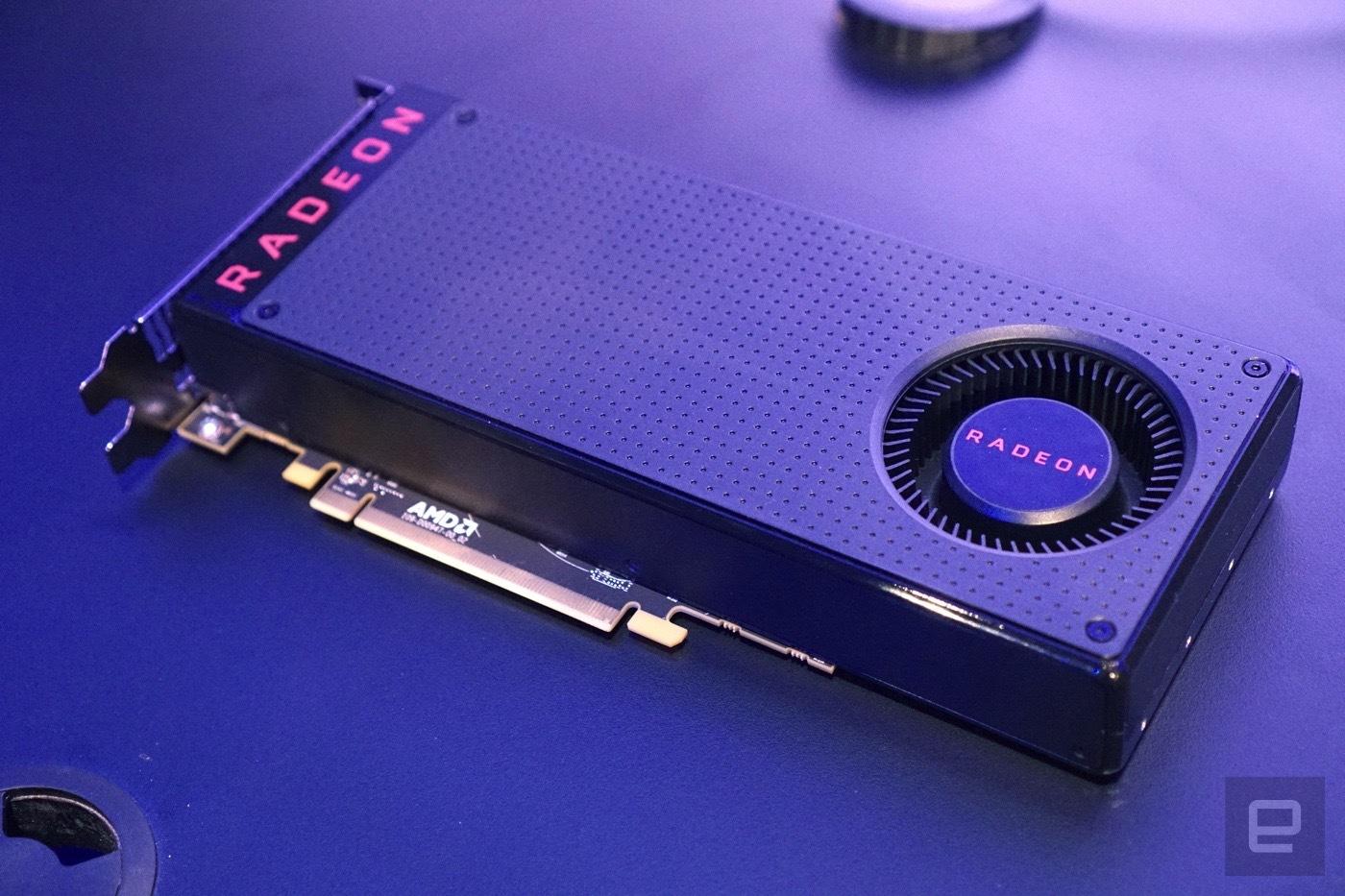 AMD Radeon RX480, AMD, Radeon RX480, RX480, GPU, видеокарта