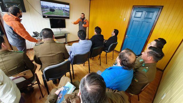 Purranque: utilizarán cámaras de seguridad para fiscalizar medidas preventivas