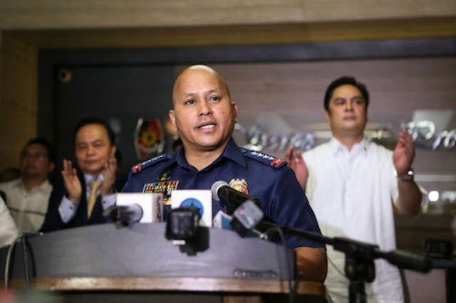 """Sink or Swim, I'm with Duterte"" says PNP Chief Bato Dela Rosa on Martial Law Threat. READ HERE!"