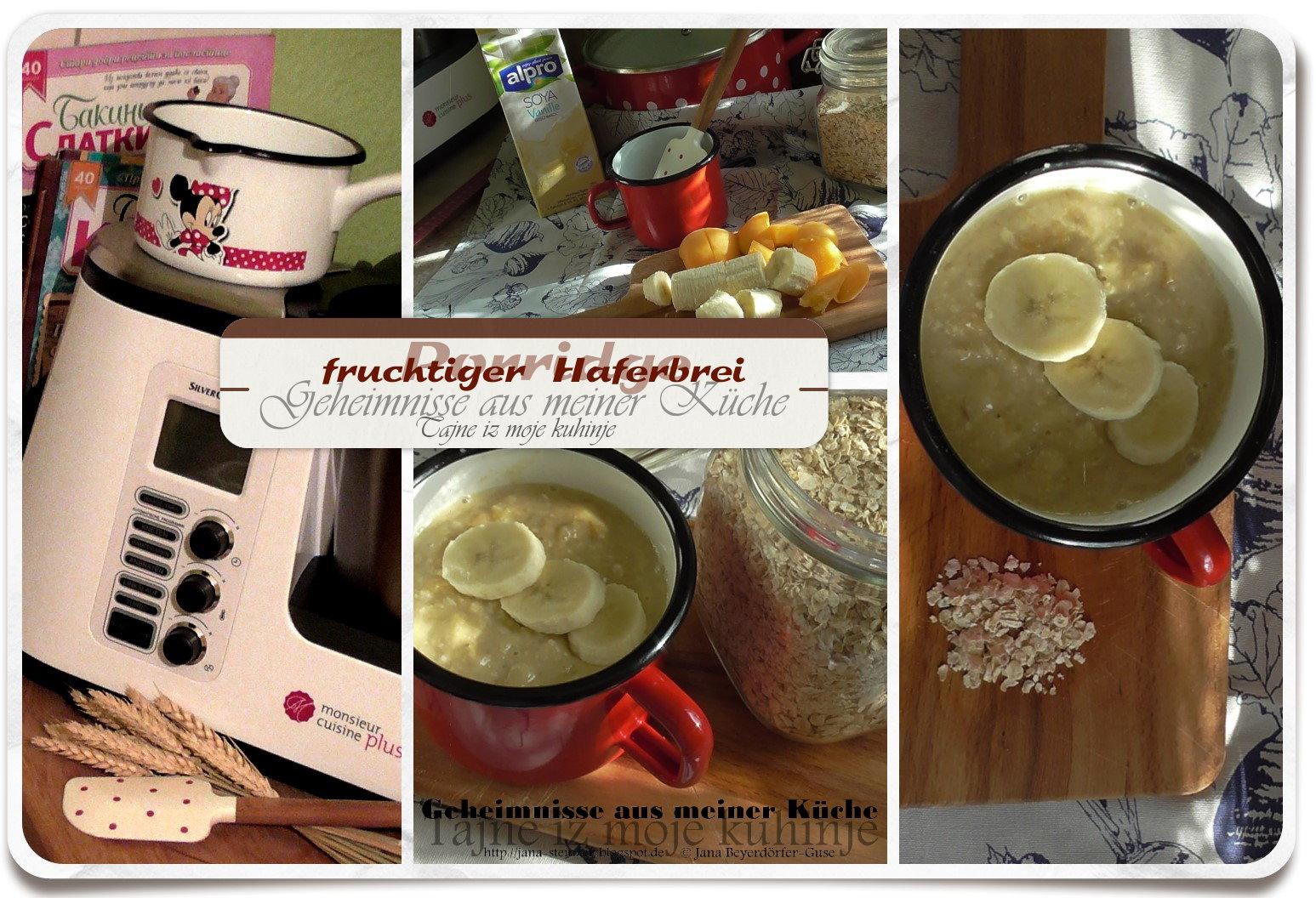 Janas steinzeit video porridge fruchtiger haferbrei for Mr cuisine edition plus