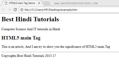 HTML5-main-tag-in-Hindi