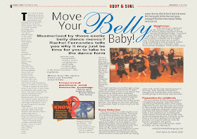 Belly dance institute Mumbai by Ritambhara Sahni - Belly Dance Class in Mumbai