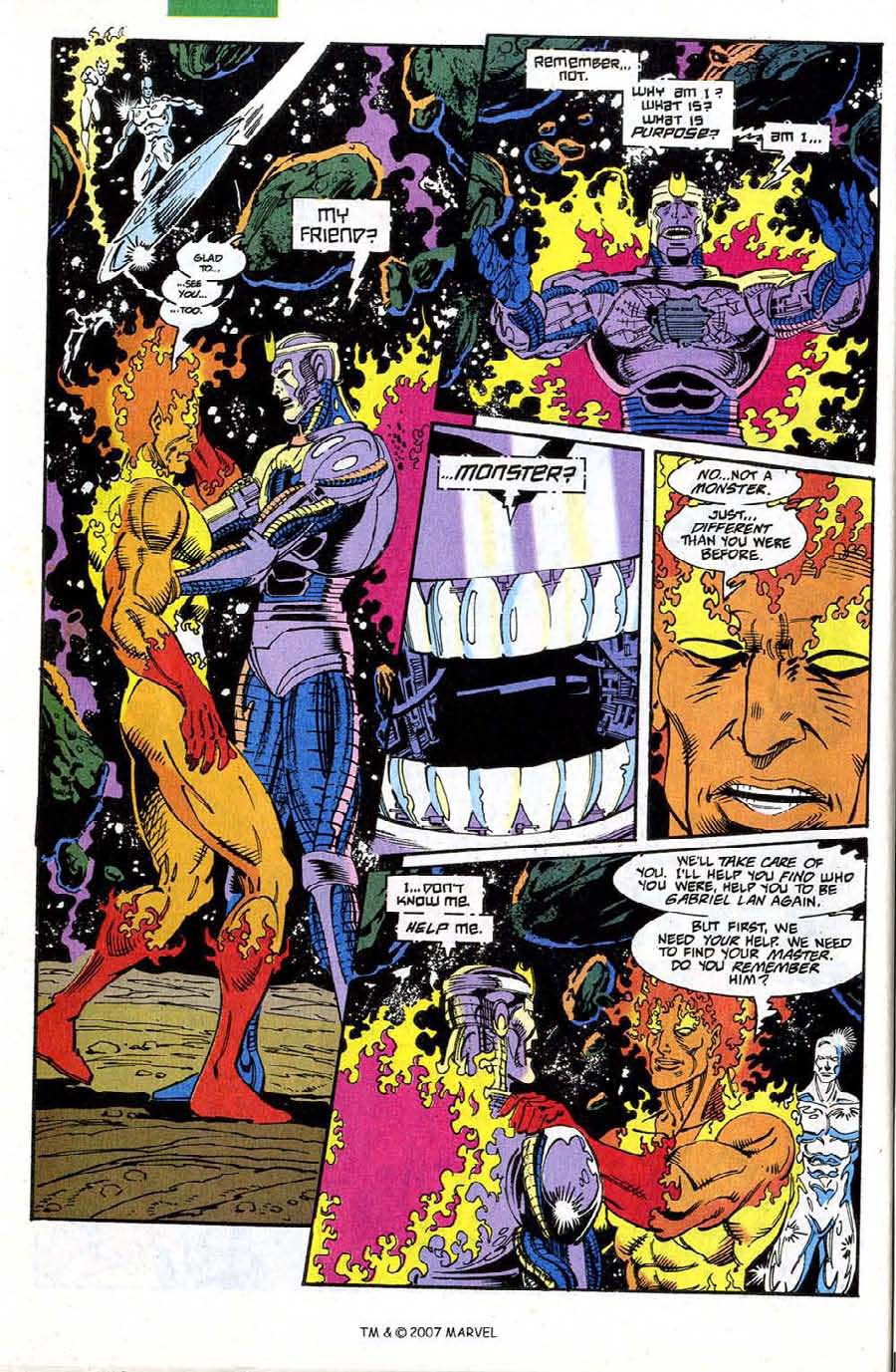 Read online Silver Surfer (1987) comic -  Issue #73 - 30