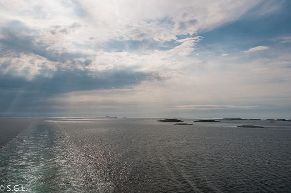 Vistas desde el Hurtigruten. Noruega
