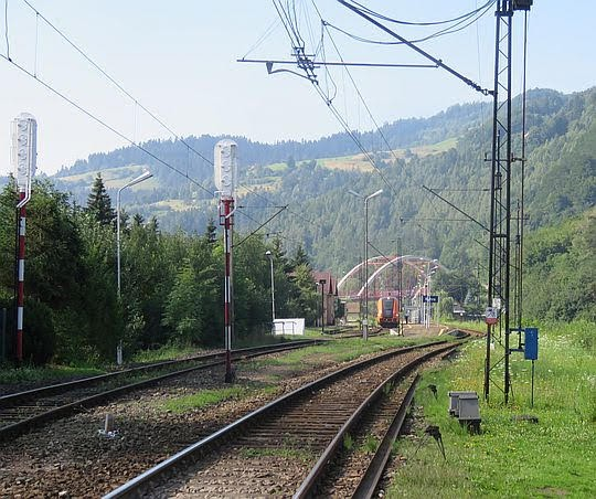 Stacja kolejowa Rytro.