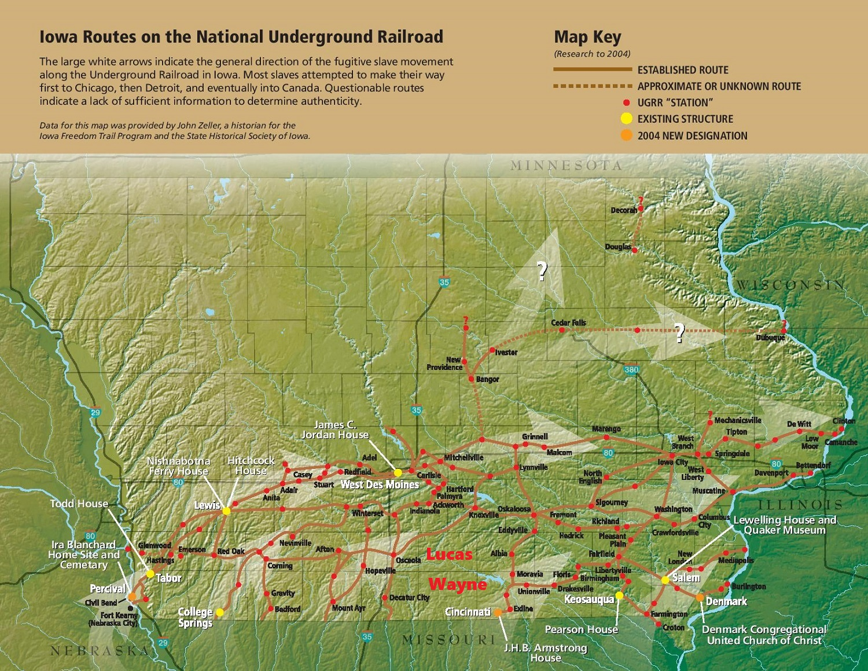 map of underground railroad routes » Free Interior Design | Mir Detok