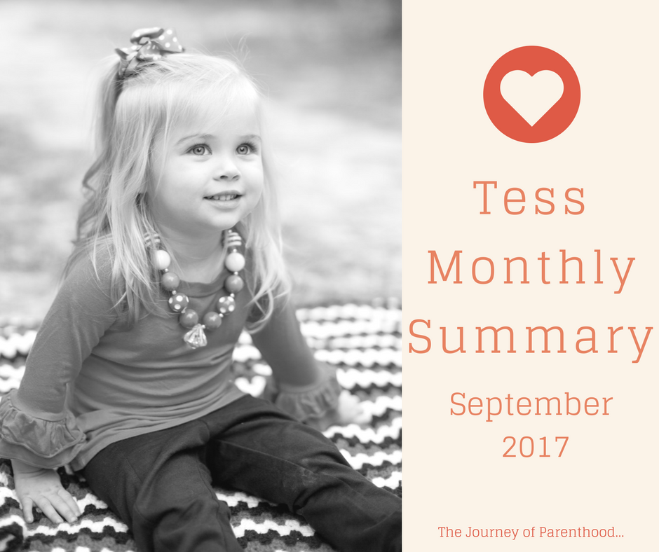 Tess Monthly Summary: September