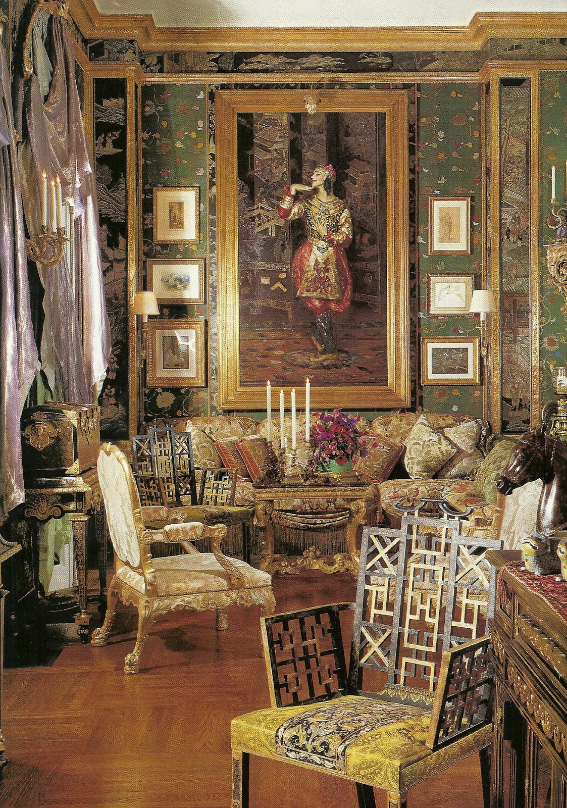 Leighton Dining Room Set Little Augury Ann Getty Degas The Divine Sarah Amp A Tree