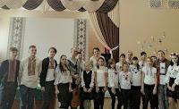 учні школи № 95 м. Києва з Ігорем Якубовським