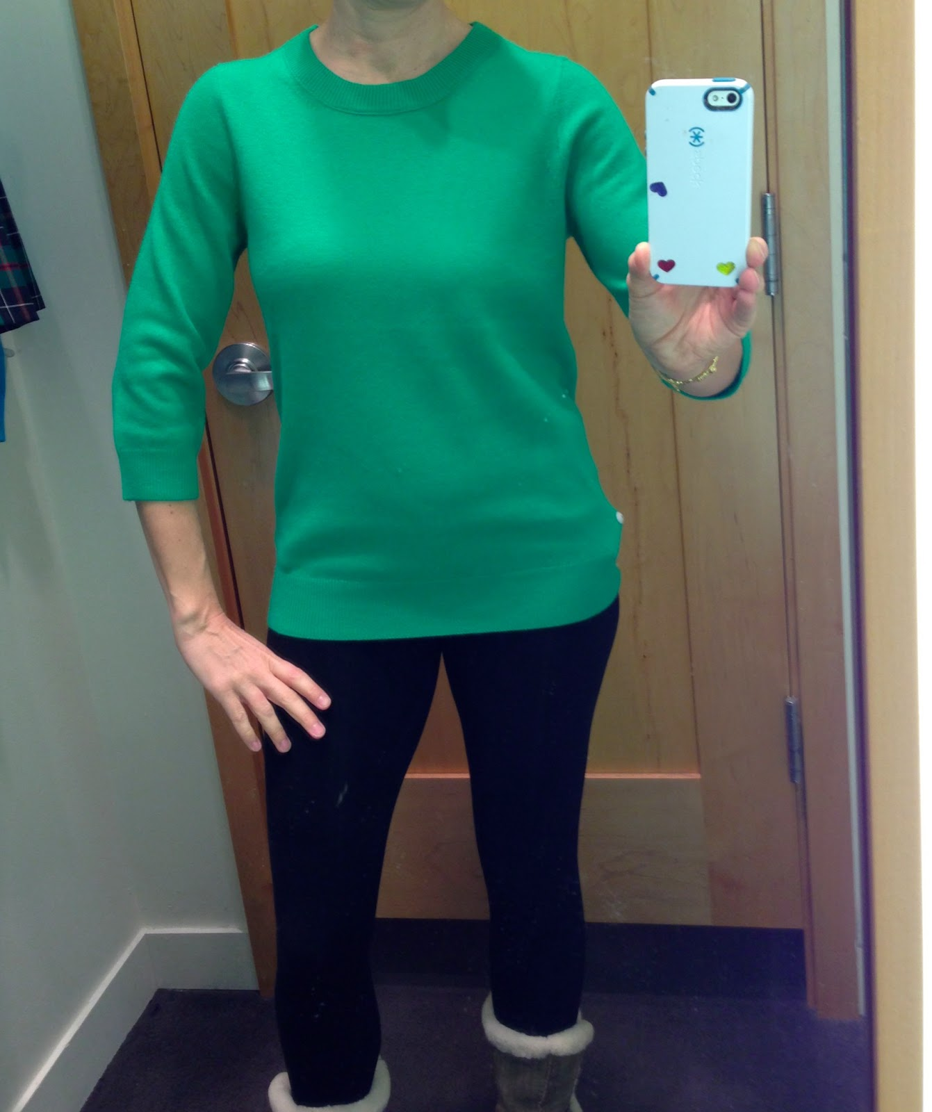 c30f761173 ... Kelly Green. Sorry - my link is to the full price Cashmere Tippi. You  have to search for the sale on under sale sweaters. They had a bunch of  these at ...