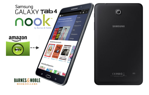 Download Amazon Instant video to Galaxy Tab 4 Nook