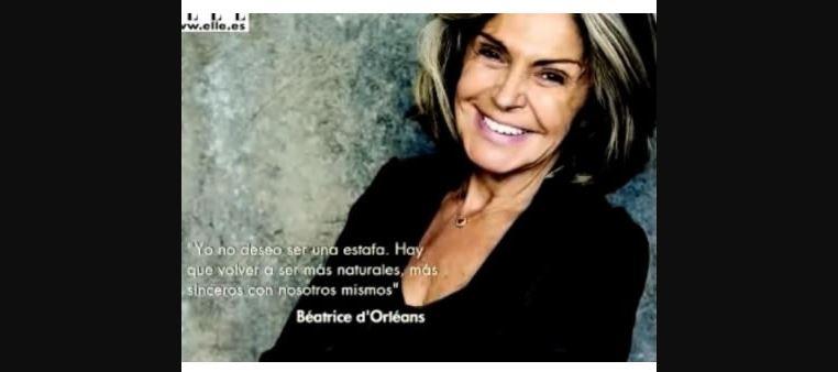 beatriz d orleans sin maquillaje