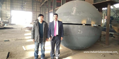 Semi Elliptical Head from Tai'an Strength was Exported to Chile