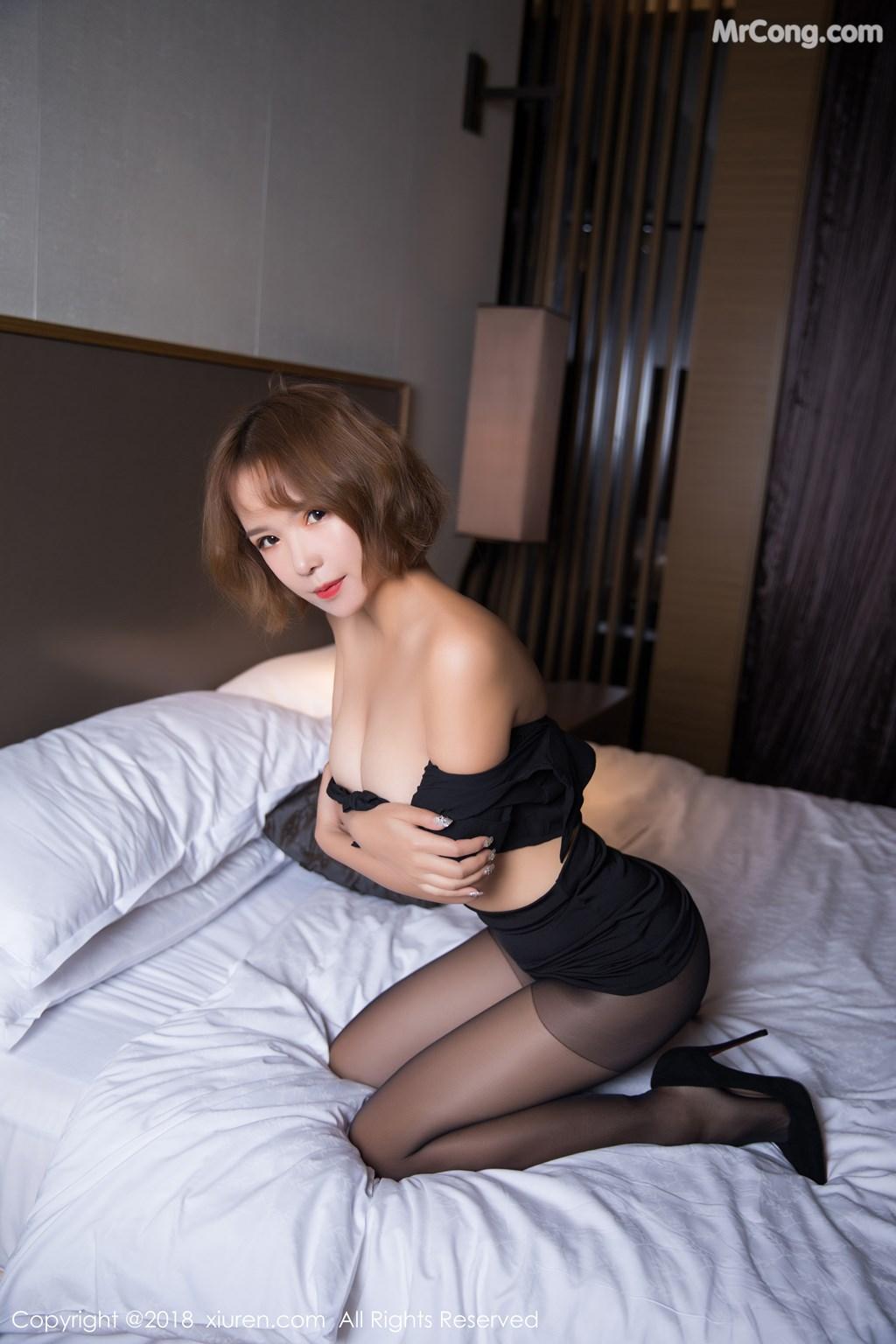 Image XIUREN-No.1264-Ya-Wen-MrCong.com-049 in post XIUREN No.1264: Người mẫu Ya Wen (雅雯) (61 ảnh)