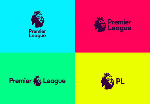 Le nouveau logo de la Premier League mise en situation