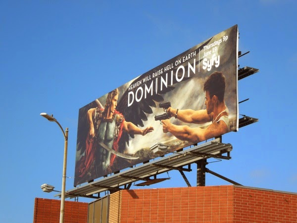 Dominion series premiere Syfy billboard