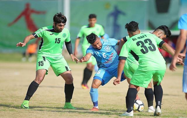 تأجيل الدوري العراقي بسبب تفشي كورونا.
