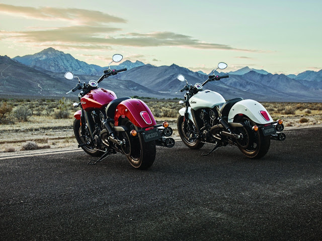 2016 Indian Motorcycle Scout Sixty rear
