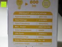 Info: LED-Filament-Lampe RETROFIT CLASSIC (ersetzt 60 Watt) E27 warmweiß, Lebensdauer 30 Jahre! 6 Watt, 550 Lumen, 2 Glühfaden, MATT [Energieklasse A++]
