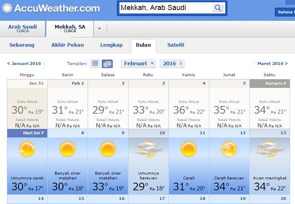 menentukan-perlengkapan-umroh-sesuai-musim-di-arab-saudi