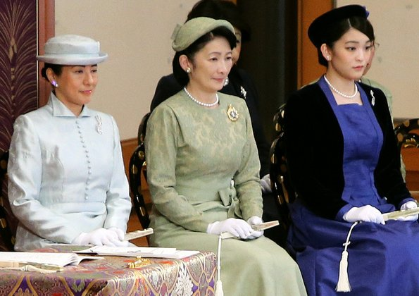 Crown Princess Masako, Princess Kiko and Princess Mako