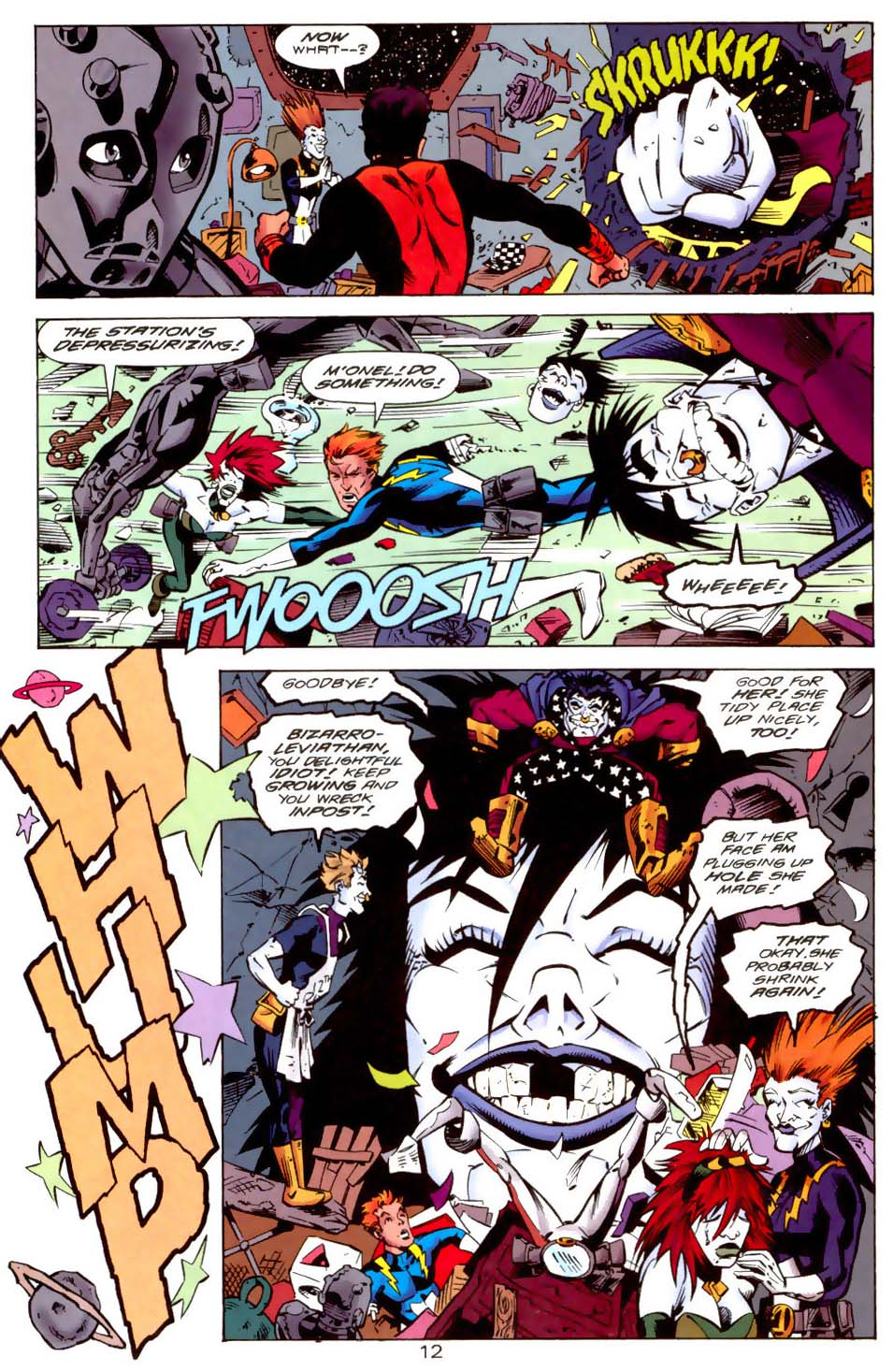 Legion of Super-Heroes (1989) 114 Page 12