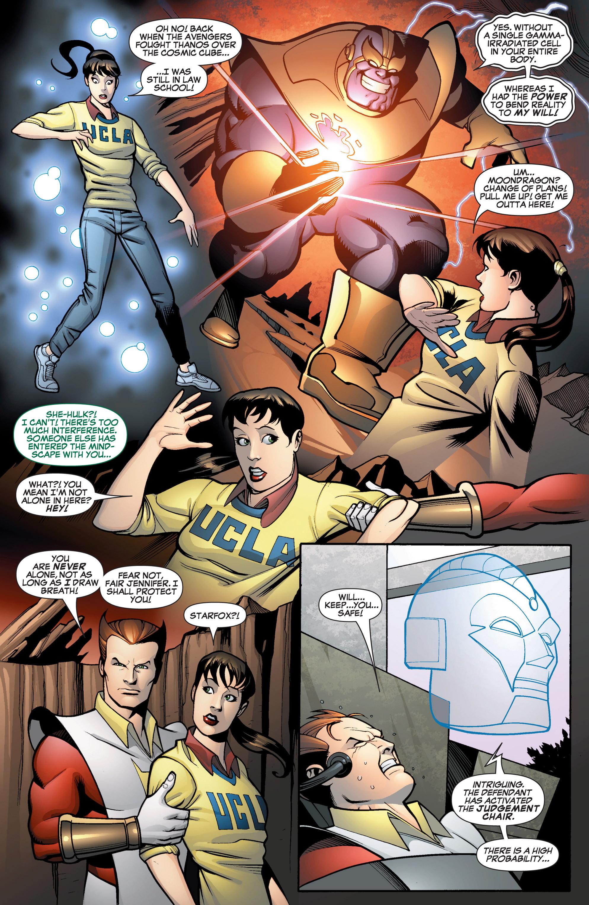 Read online She-Hulk (2005) comic -  Issue #13 - 7