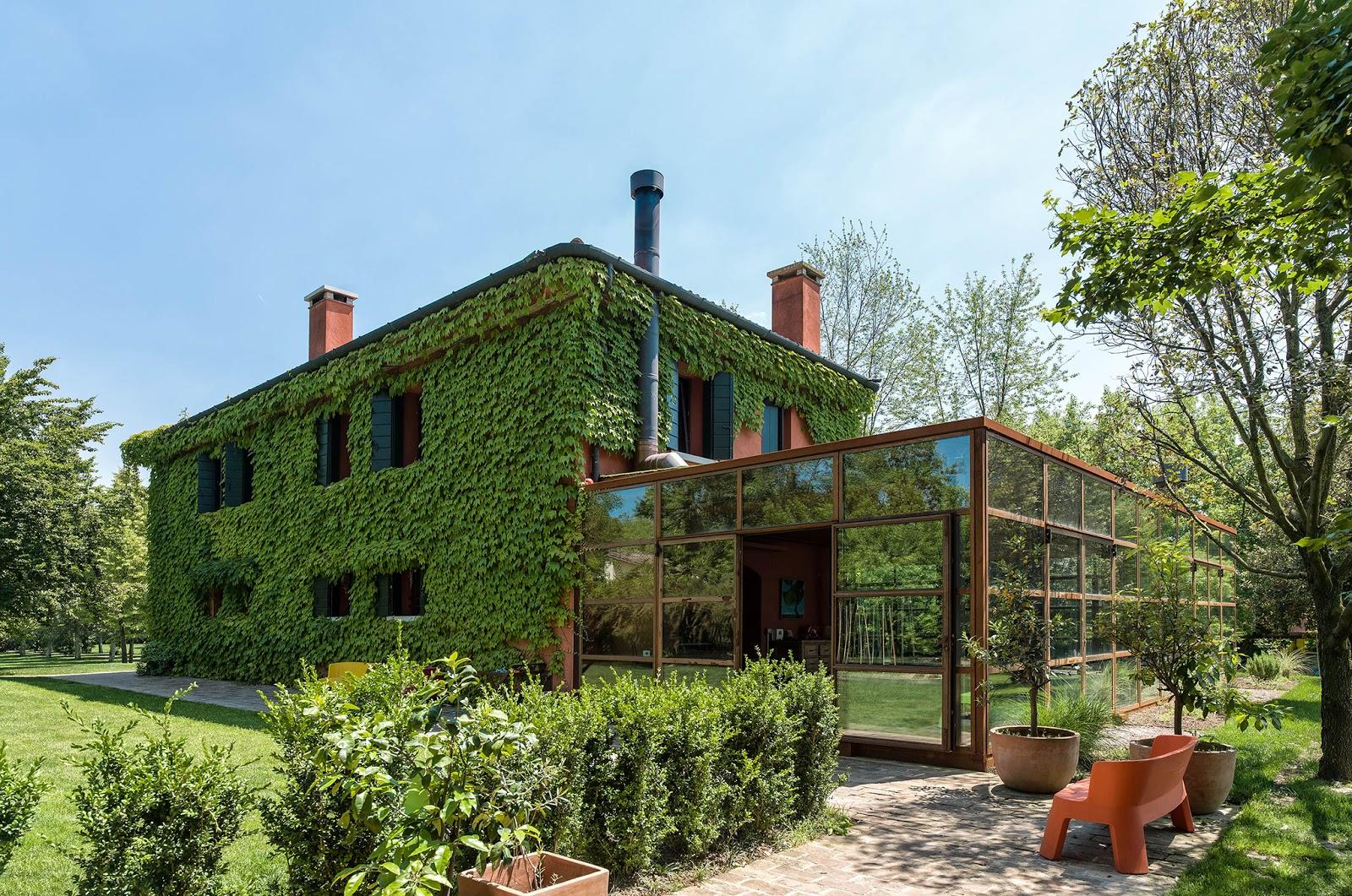 Загородный дом в Тревизо после реновации