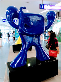 Mall mascot, Vivocity, Singapore