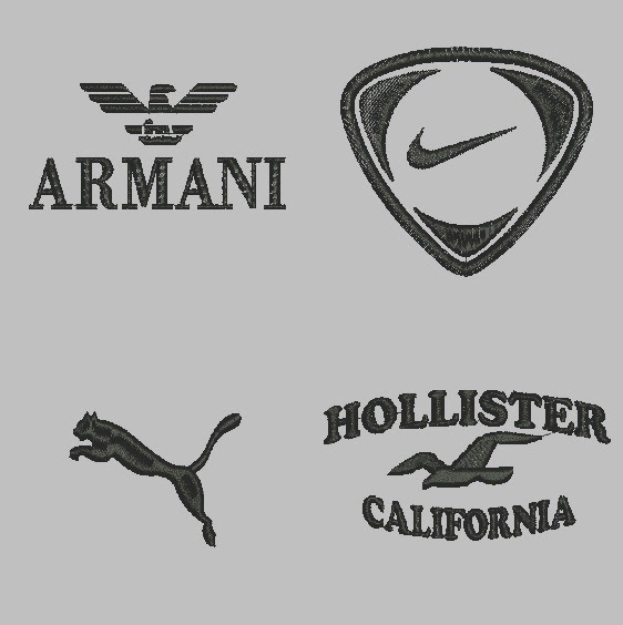 Bordados Armani, Polo, Nike, Puma [EMB] [Wilcom ES